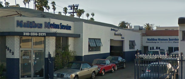 santa monica mercedes benz service and repair